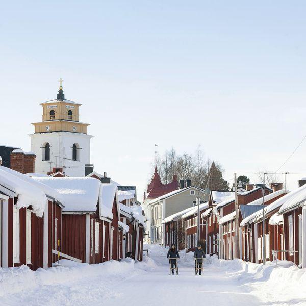 Droomreis Zweden&Noorwegen deluxe Winter- dorp
