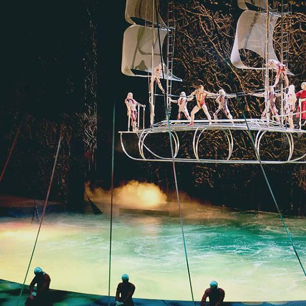 O - Cirque du Soleil - Theatershow - Las Vegas - Nevada - Doets Reizen