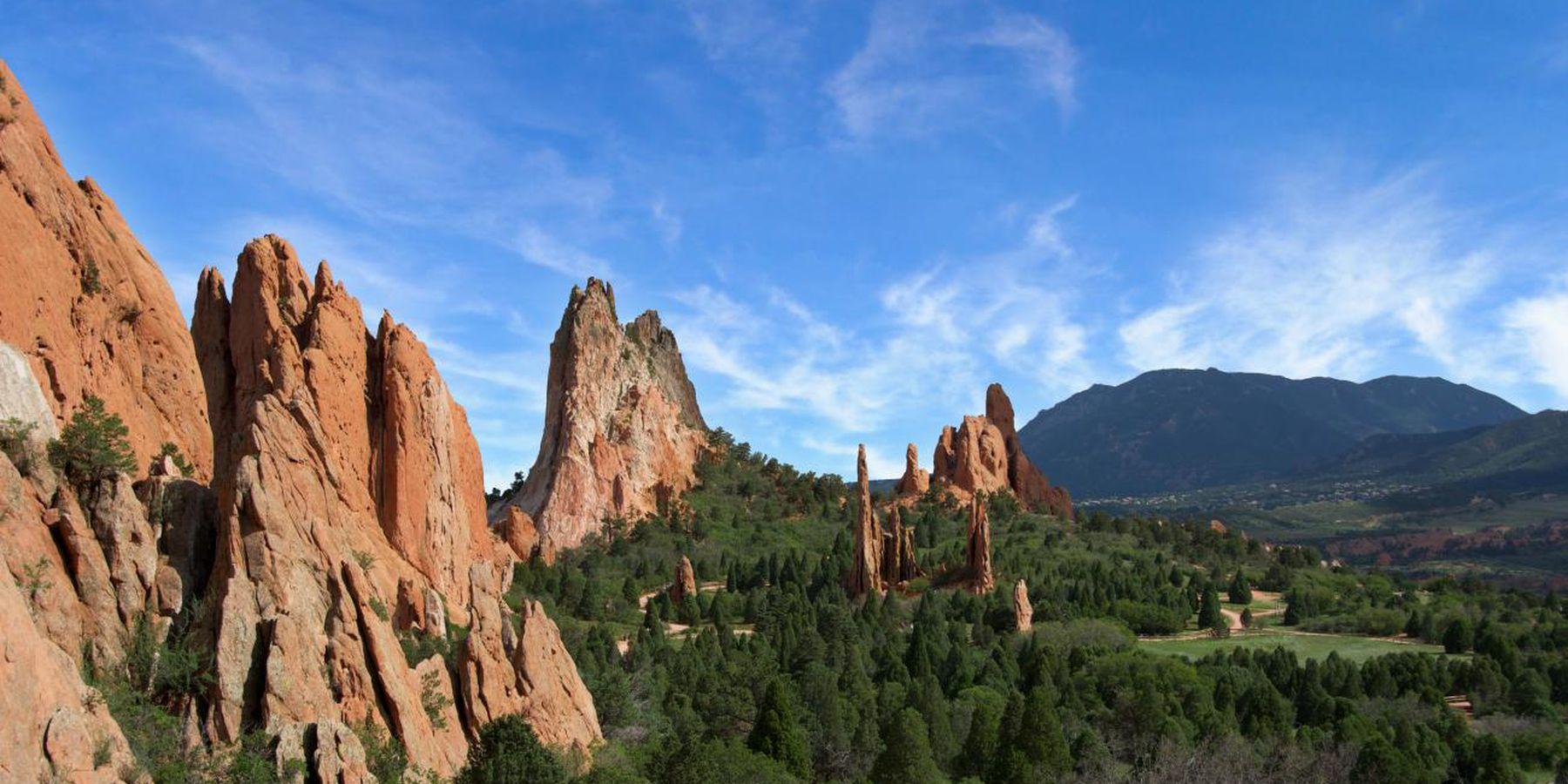 Garden of the Gods - Colorado - Denver - Doets Reizen