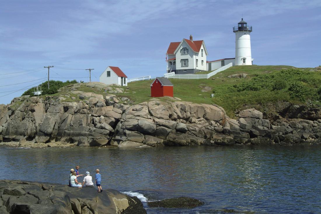 Nubble Lighthouse - Maine - Amerika - Doets Reizen