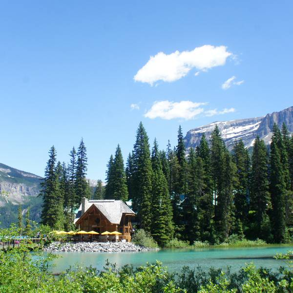 Emerald Lake Lodge - Yoho National Park - British Columbia - Canada - Doets Reizen