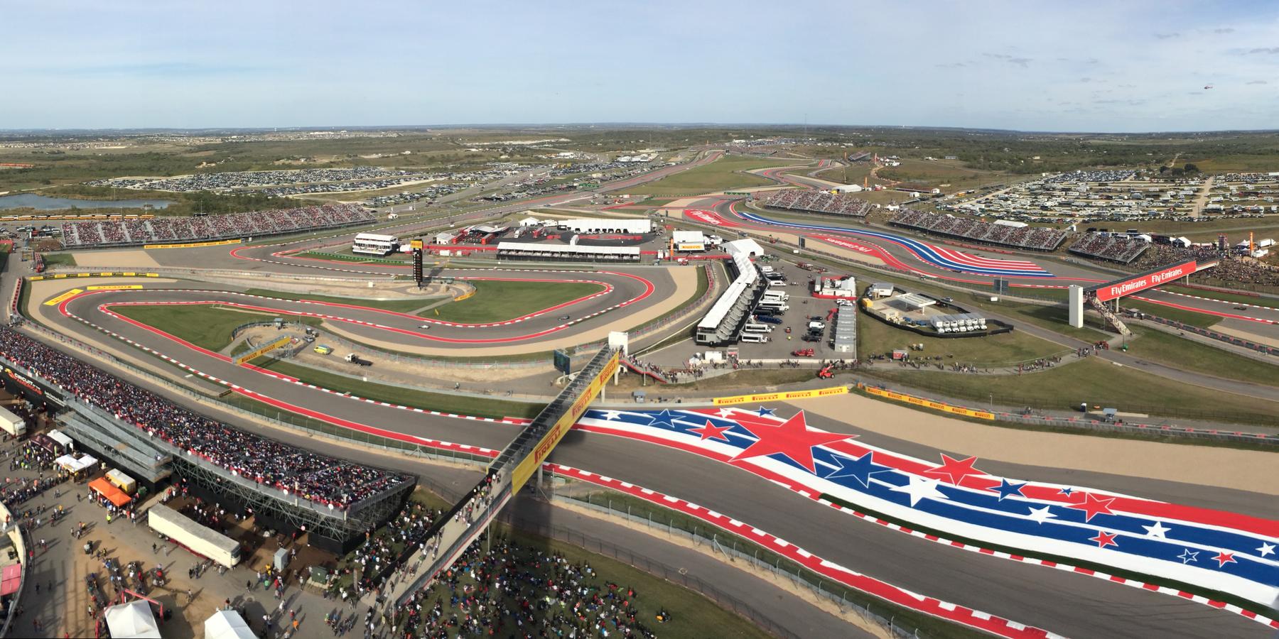 Circuit of the Americas - Formule 1 - Austin - Texas - Doets Reizen