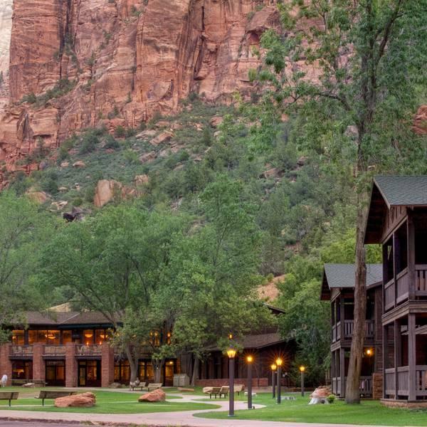 Zion Lodge - aanzicht
