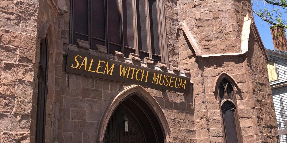Witch museum - Salem - Massachusetts - Doets Reizen