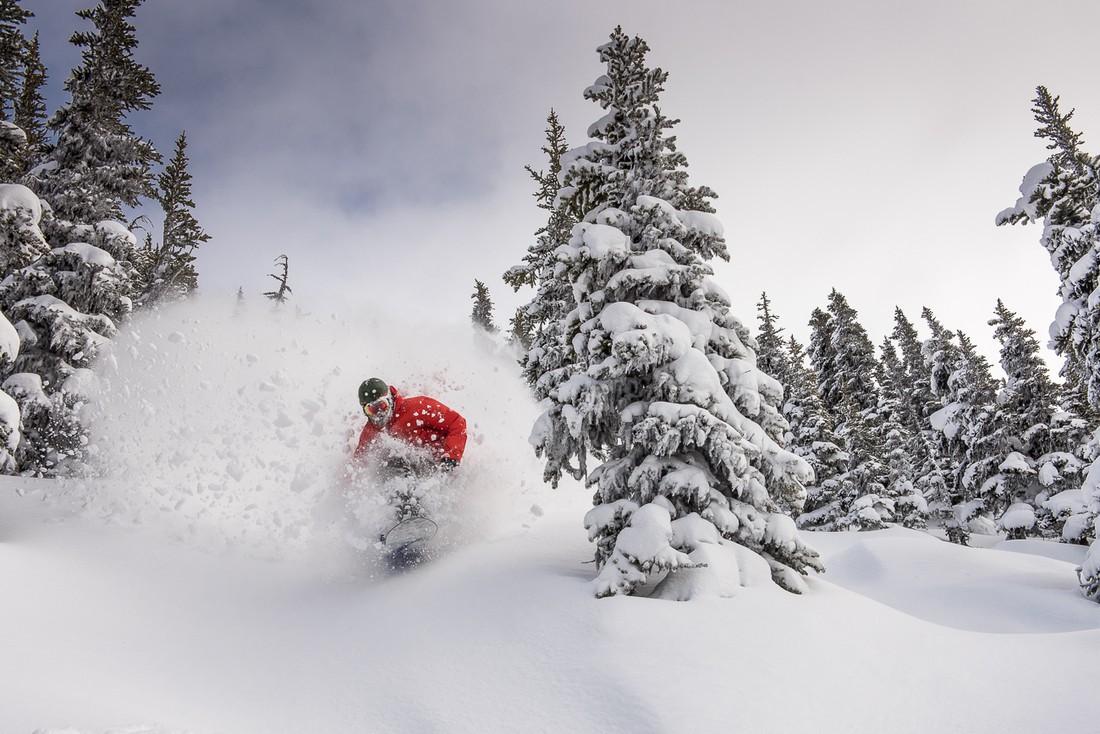 Wintersport - Tree skiing - Canada - Doets Reizen