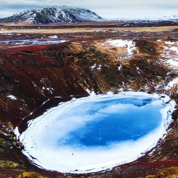 Kerið - IJsland - Doets Reizen