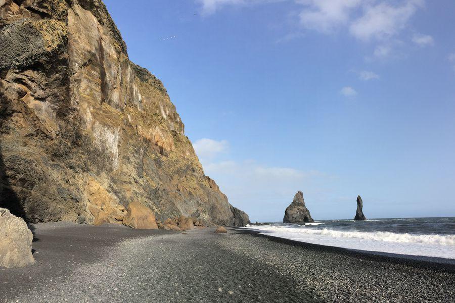 Black Sand Beach - IJsland - Doets Reizen