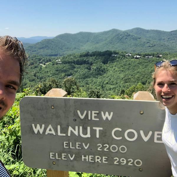 Appalachian Mountains - Blueridge Parkway - North Carolina - Amerika - Doets Reizen