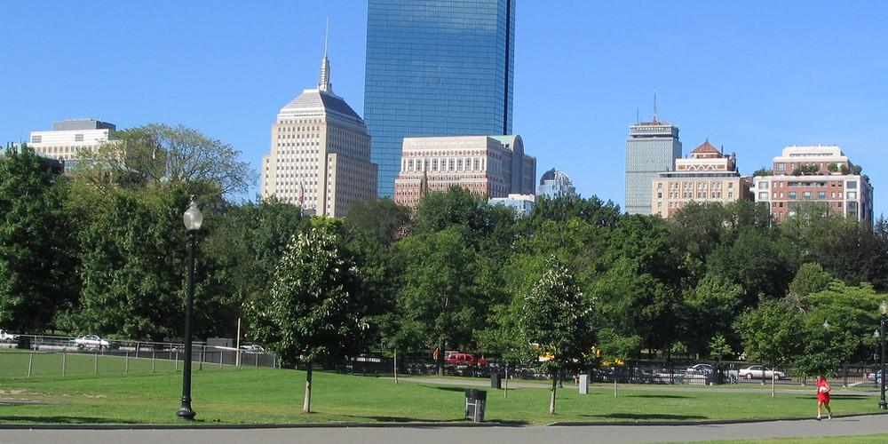 John Hancock Tower - Boston - Massachusetts - Doets Reizen