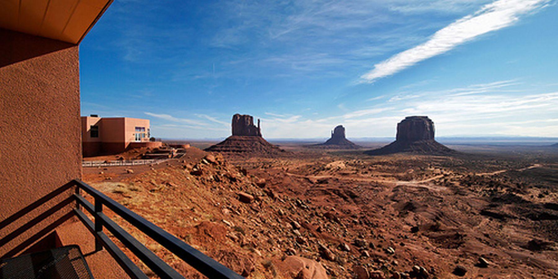 View Hotel Monument Valley - uitzicht