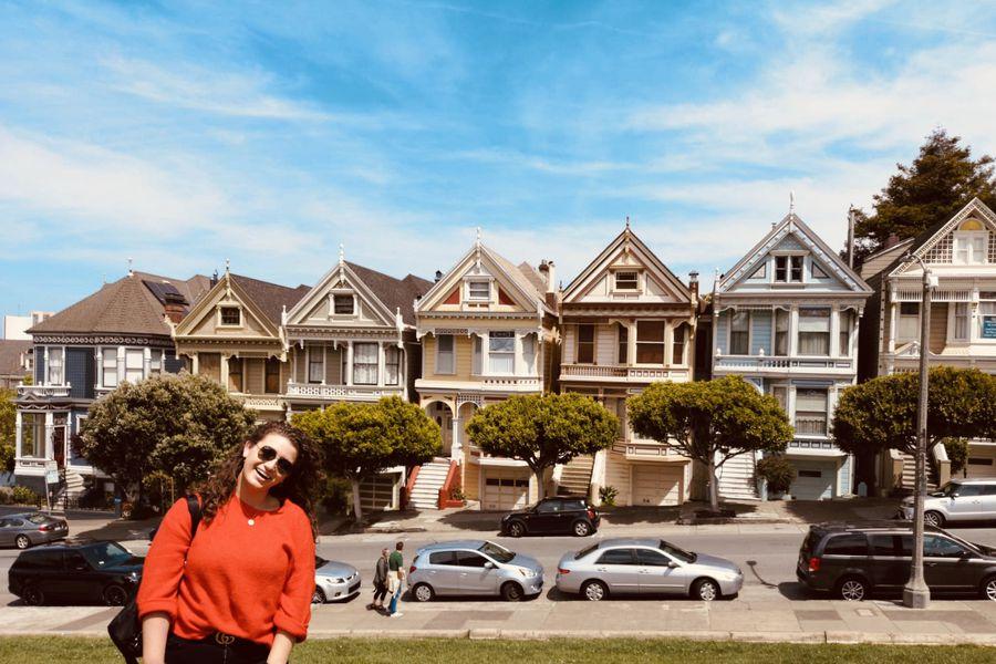 Painted Ladies - San Francisco - California - Amerika - Doets Reizen