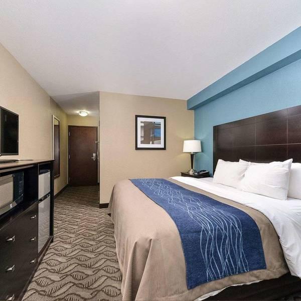 Comfort Inn & Suites Springfield - suite