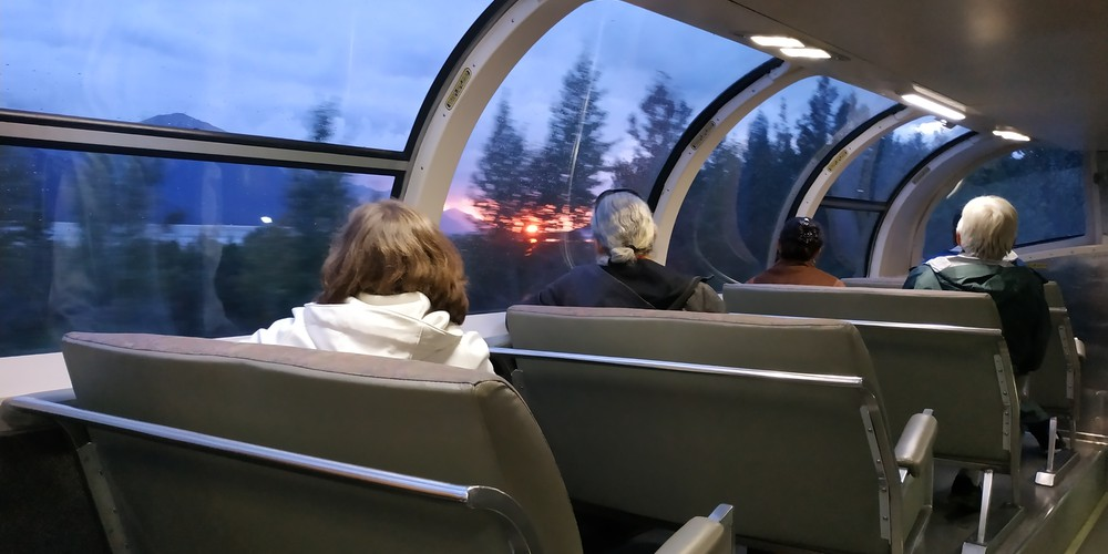Alaska Railroad adventure class