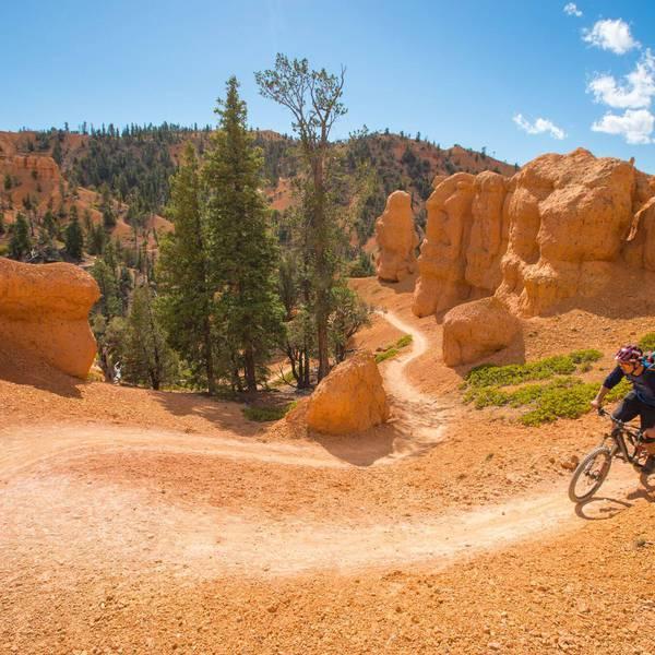 Ruby's Inn RV Park and Campground, biking Bryce