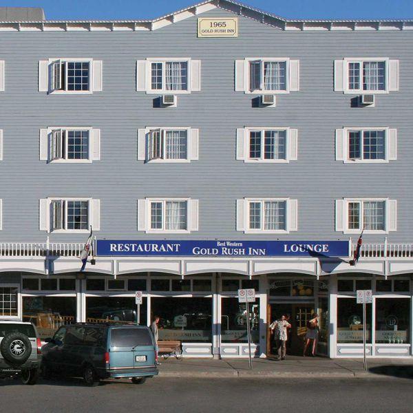 BW Gold Rush Inn - aanzicht