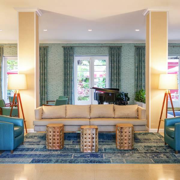 Dorchester Hotel - lobby