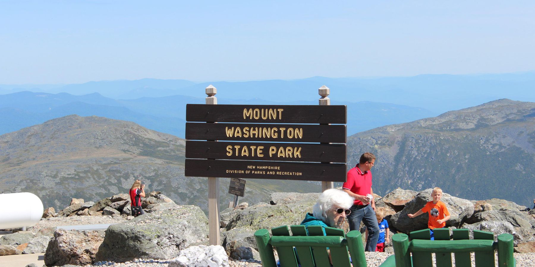 Mount Washington State Park - New Hampshire - Amerika - Doets Reizen