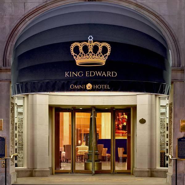 Omni King Edward Hotel - Entreetje