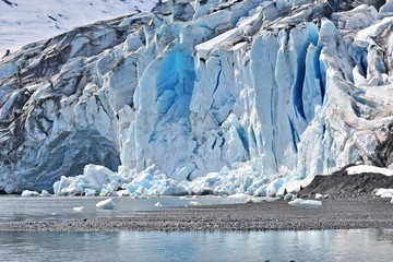 Prince William Sound - Shoup Glacier - Alaska - Doets Reizen