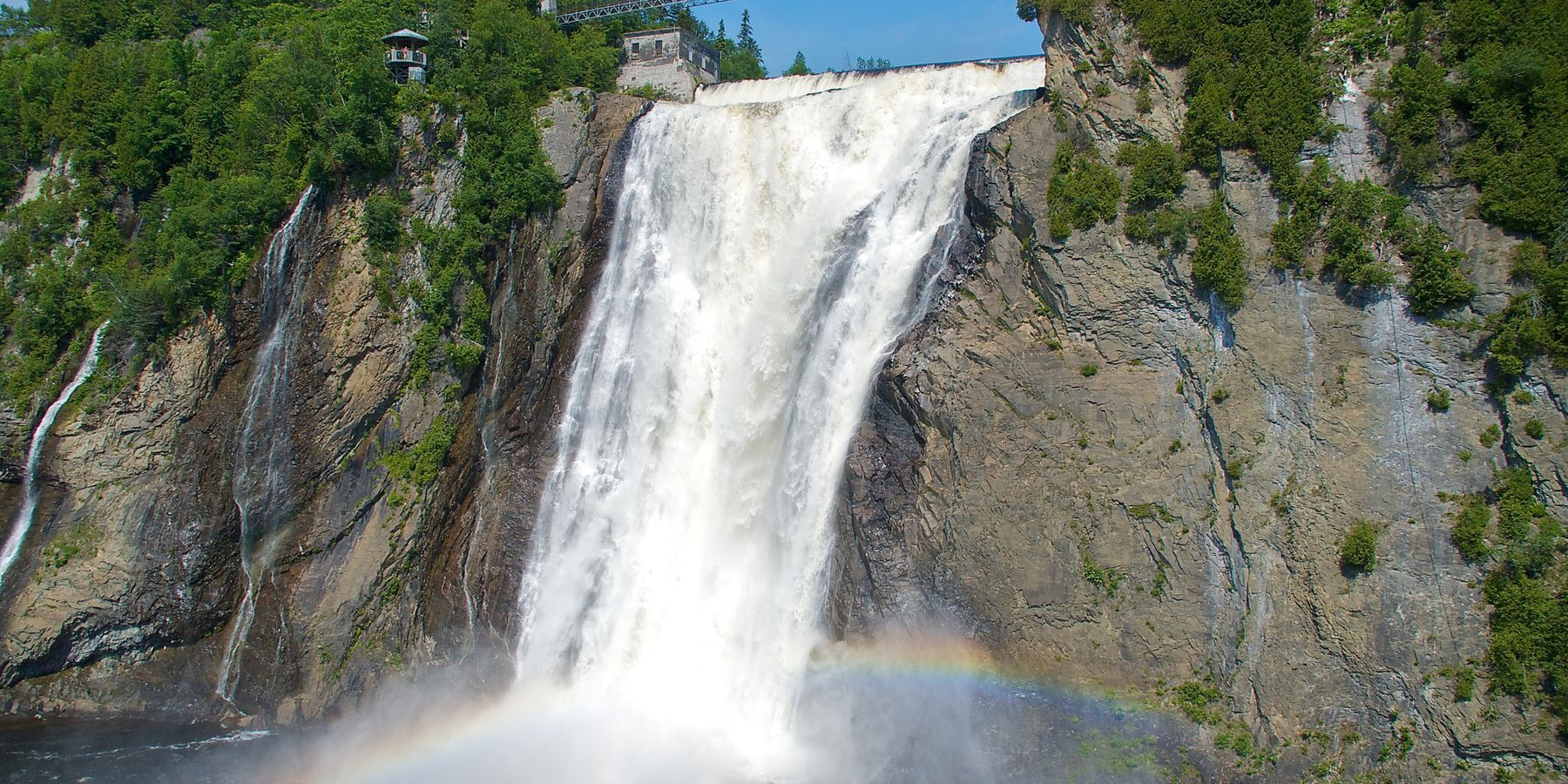 Montmorency Falls - Quebec City - Quebec - Canada - Doets Reizen
