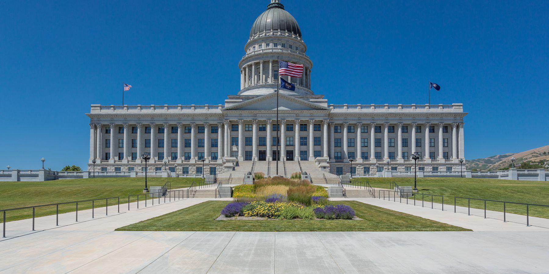 Utah State Capitol - Salt Lake City - Utah - Doets Reizen