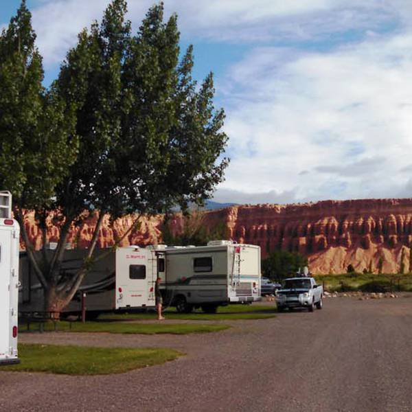 Thousand Lakes RV Park, schitterende omgeving