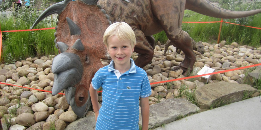 Royal Tyrrell Museum - Drumheller - Alberta - Canada - Doets Reizen