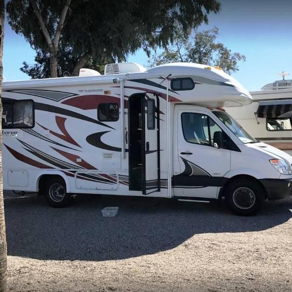 Prince of Tucson RV Park, camperplaats