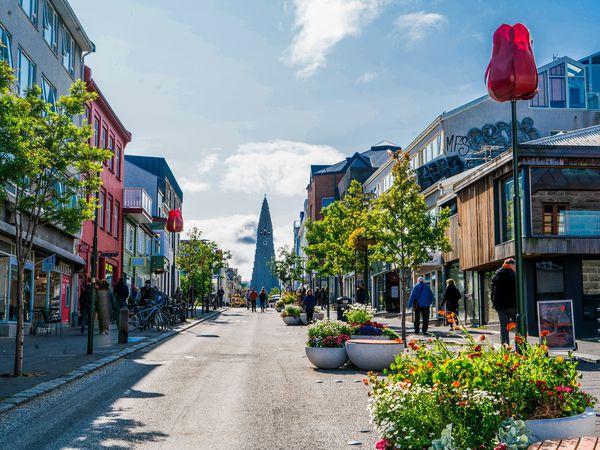 Reykjavik straten