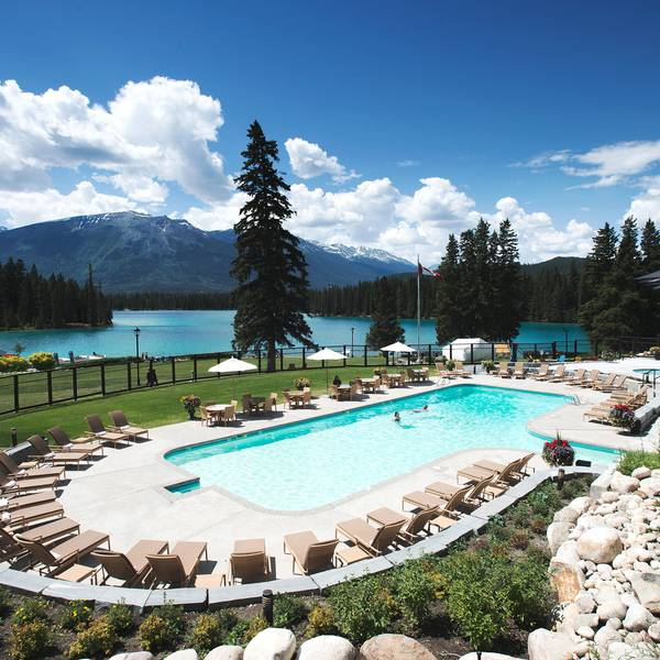Fairmont Jasper Park Lodge - zwembadje