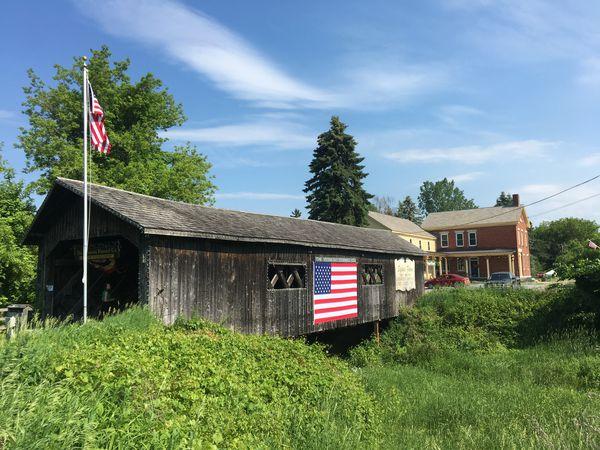 Covered Bridges - Vermont - Amerika - Doets Reizen