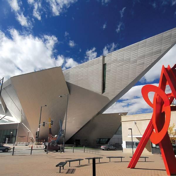 Denver Arts Museum - Denver - Colorado - Doets Reizen