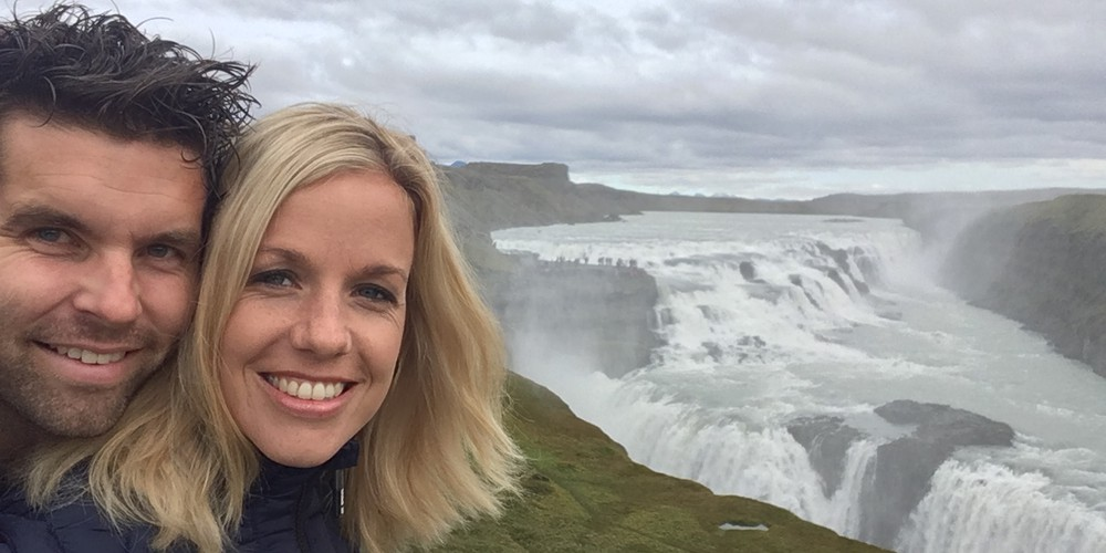 Gullfoss - IJsland - Doets Reizen