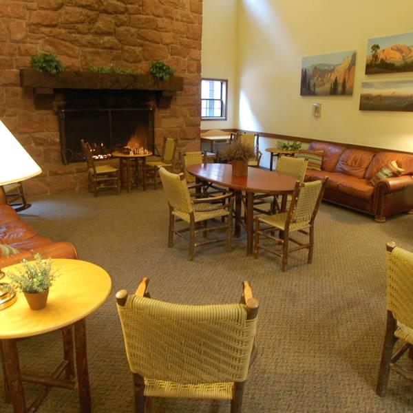 Zion Lodge - lobby 2