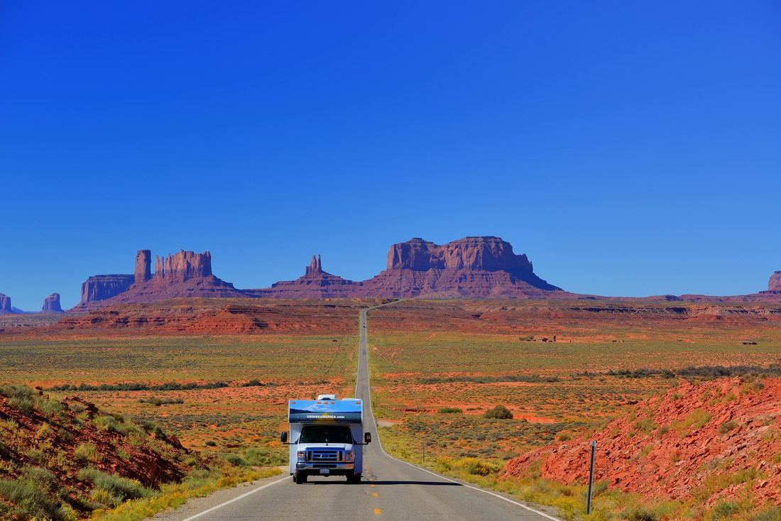 Cruise America in Monument Valley