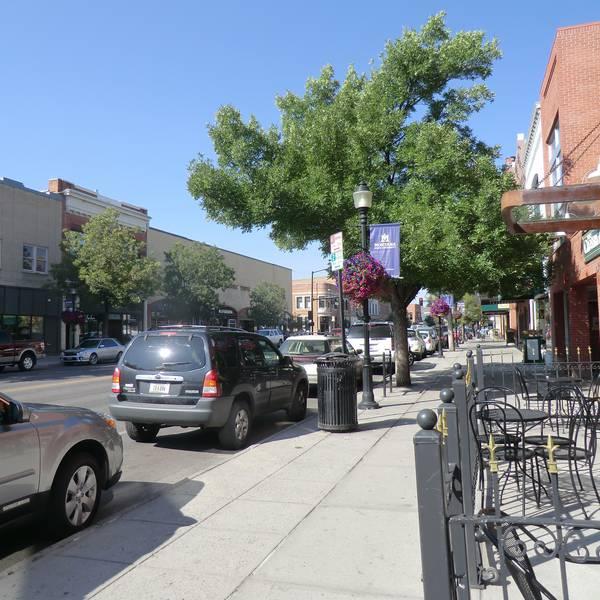 Main Street - Bozeman - Montana - Amerika - Doets Reizen