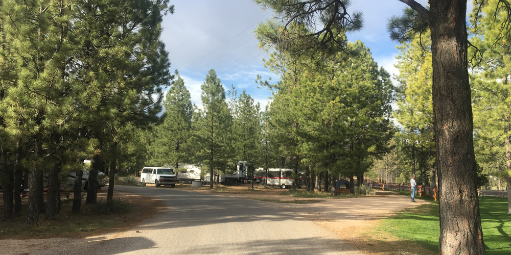 Ruby's Inn RV Park and Campground - Bryce Canyon National Park - Utah - Camping Amerika - Doets Reizen