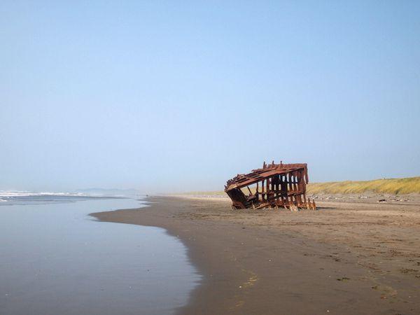 Fort Stevens shipwreck - Astoria - Oregon - Doets Reizen