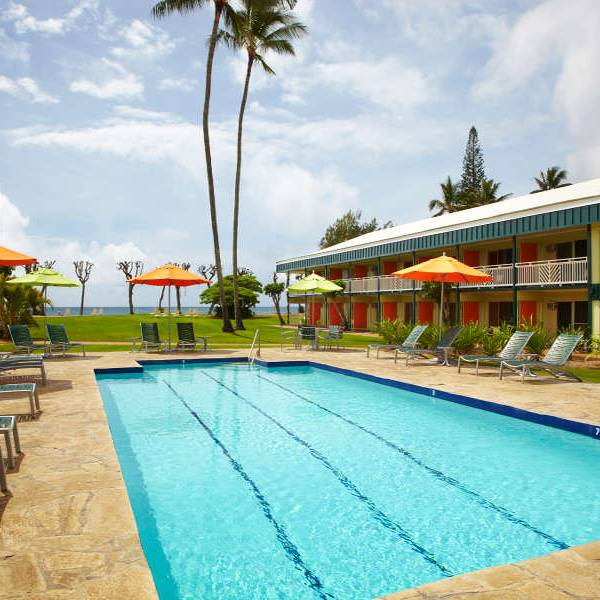 Kauai Shores Hotel Pool