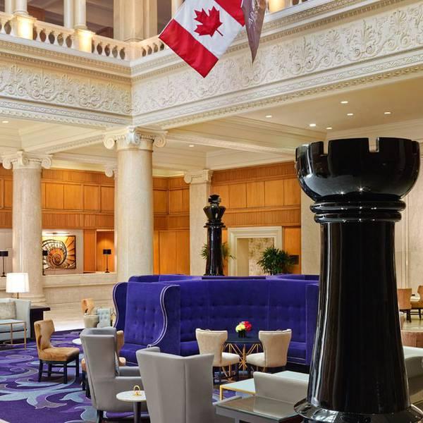 Omni King Edward Hotel - lobby