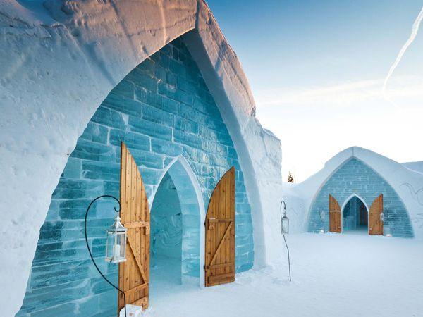 Wintersport - Hotel de Glace -Quebec City - Quebec - Canada - Doets Reizen