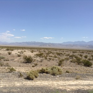 Rijdag van Las Vegas naar Mammothlakes - Dag 19 - Foto