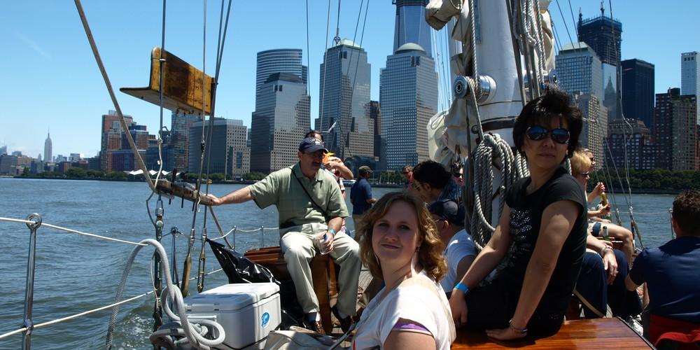 Manhattan by Sail excursie NYC