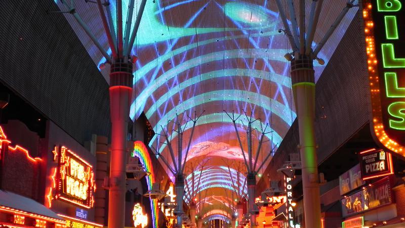 Aansluiting website Las Vegas