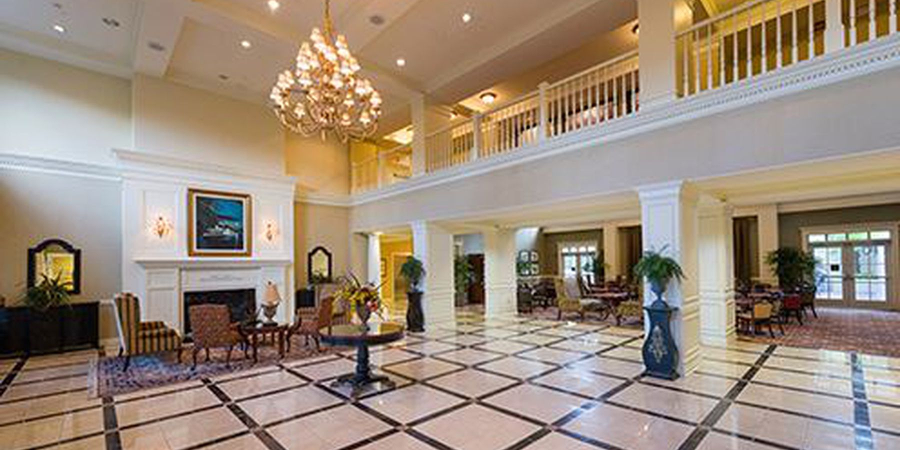 Hampton Inn & Suites Vicksburg - lobby