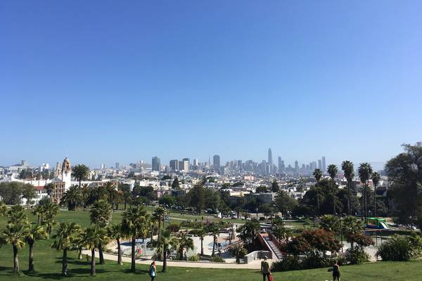 Mission Dolores Park - San Francisco - California - Amerika - Doets Reizen
