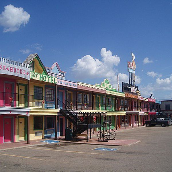 Big Texan Motel - exterior
