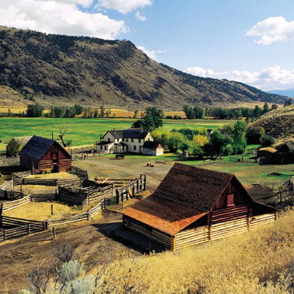 Historic Hat Creek Ranch, overzicht van de ranch