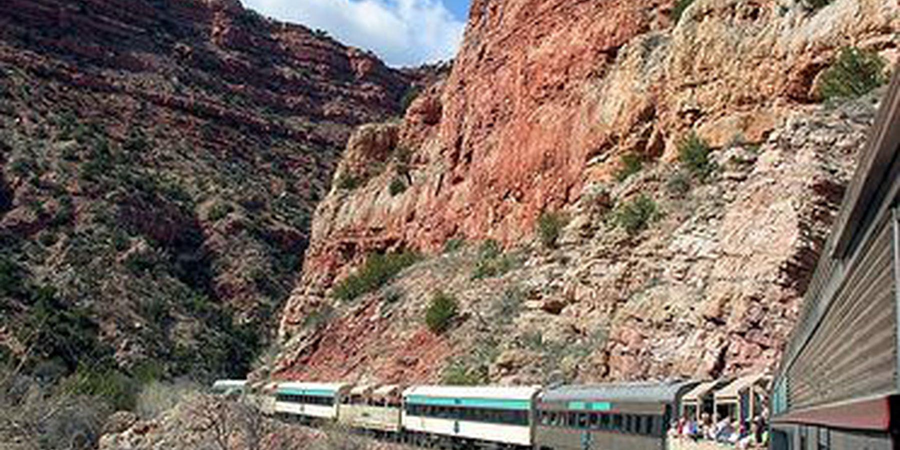 Verde Canyon Railroad - Sedona - Arizona - Doets Reizen
