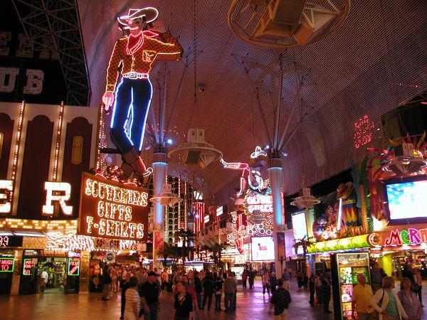 Freemont Street in Las Vegas, Nevada